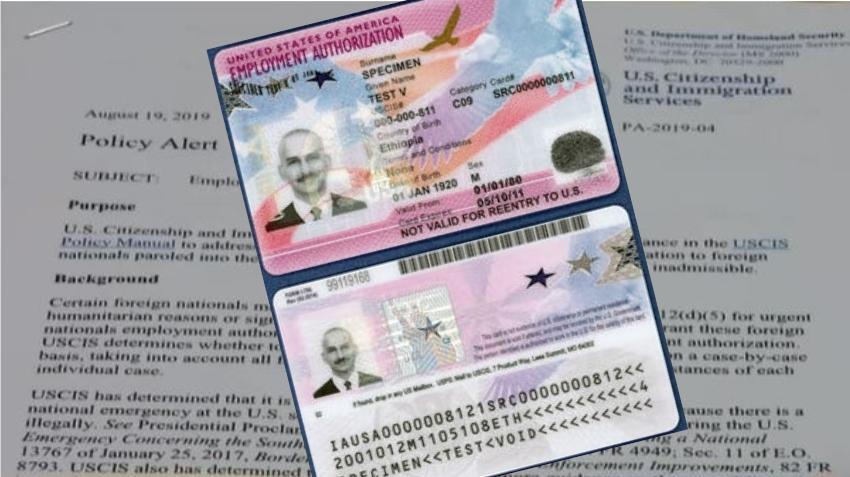 Limitan entrega de Permisos de Trabajo para solicitantes de asilo en EEUU