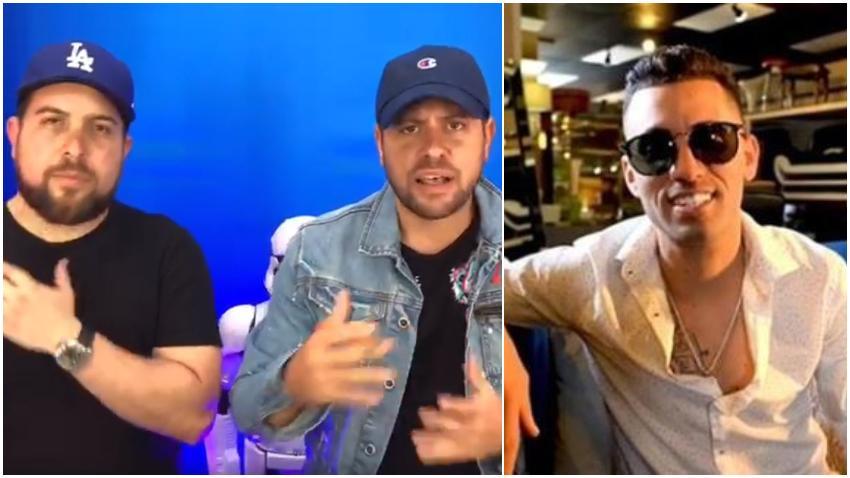 Reguetonero cubano Lenier Mesa cancela entrevista con Los Pichy Boys por temor a que le hicieran preguntas de política