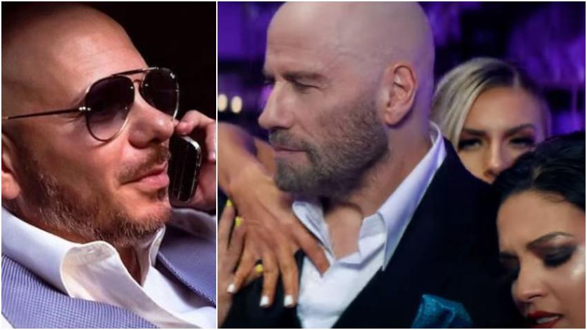 """""""3 to Tango"""" el nuevo videoclip de Pitbull, tiene como protagonista a John Travolta"""