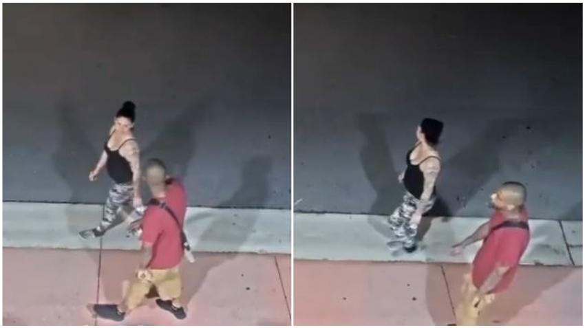 La policía busca a un hombre y una mujer que asaltaron a una turista en Miami Beach
