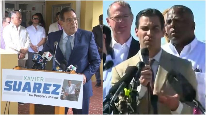 Xavier Suárez, el padre de Francis Suárez alcalde de la ciudad de Miami, anuncia candidatura por la alcaldía del condado Miami Dade