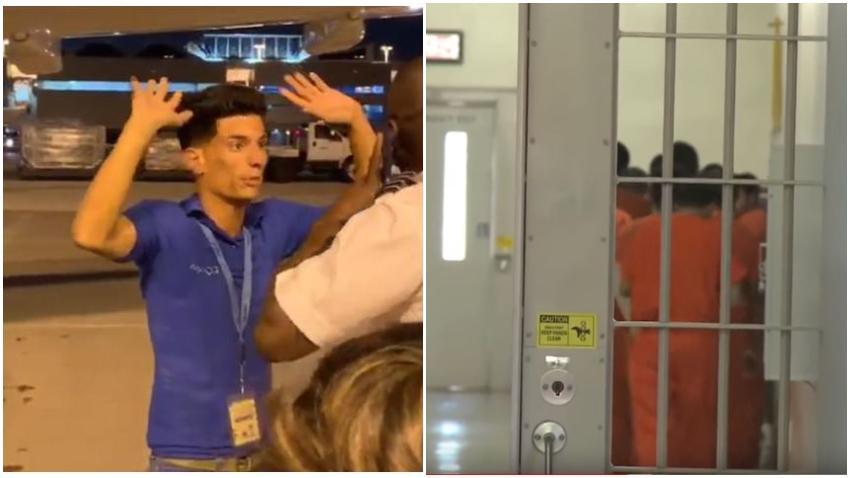 Joven cubano Yunier García es transferido al centro de detención de ICE en Miami, Krome