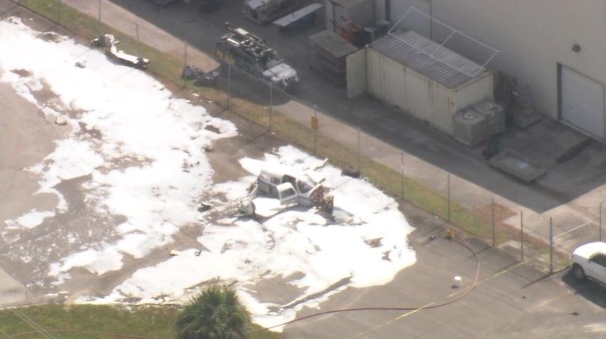 Una avioneta se estrella cerca del aeropuerto de Boca Ratón
