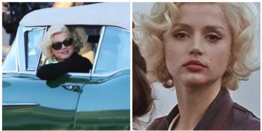 La cubana Ana de Armas sorprende por su gran parecido a Marilyn Monroe en la cinta biográfica sobre la estrella