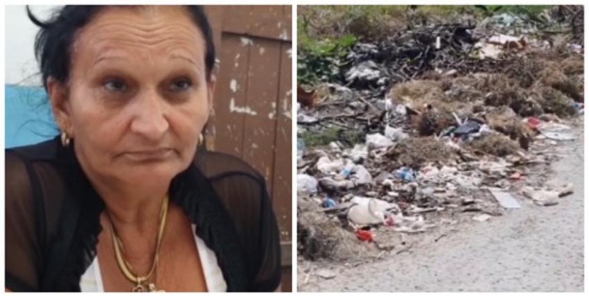 Niños y maestros con dengue por un basurero que cubre dos entradas de una escuela en San Miguel del Padrón