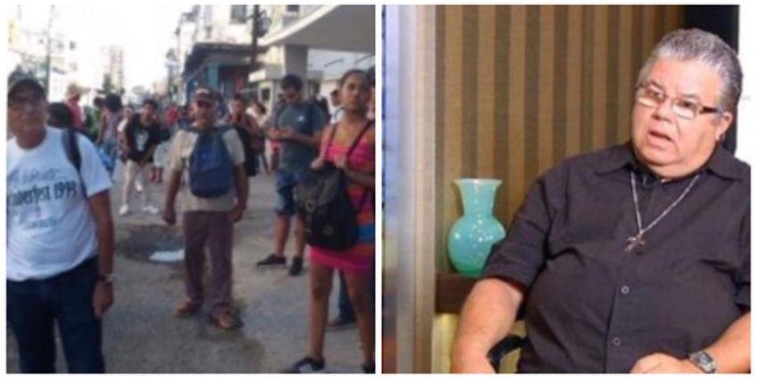 """""""La gente está cansada"""", asegura sacerdote en alusión al pueblo cubano"""