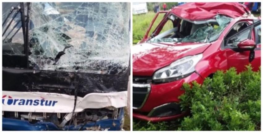 Reportan un fallecido tras choque entre un ómnibus de turismo y un automóvil moderno en Cuba