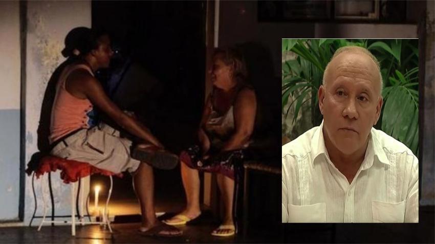 """Ministro de Energía y Minas en Cuba asegura que los apagones en la Isla son """"como en cualquier otro país"""""""