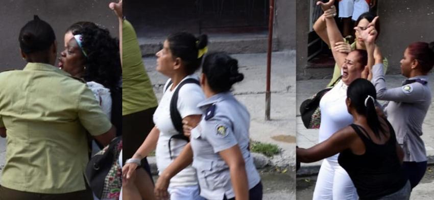 Líder de las Damas de Blanco Berta Soler, permanece detenida tras oleada represiva el domingo