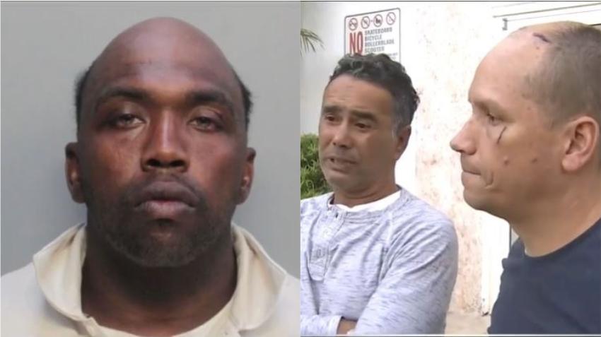 Un hombre ataca a dos turistas con un martillo en un apartamento en Miami Beach