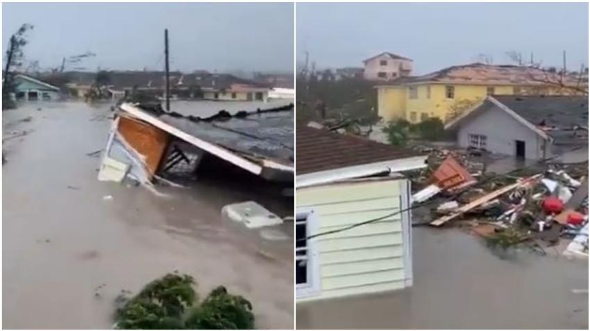 Medios locales reportan la muerte de un niño de 7 años en Las Bahamas a causa del huracán Dorian