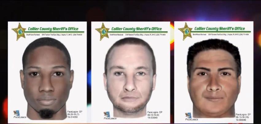Buscan a tres hombres sospechosos de acercarse a niños en vecindario del suroeste de la Florida