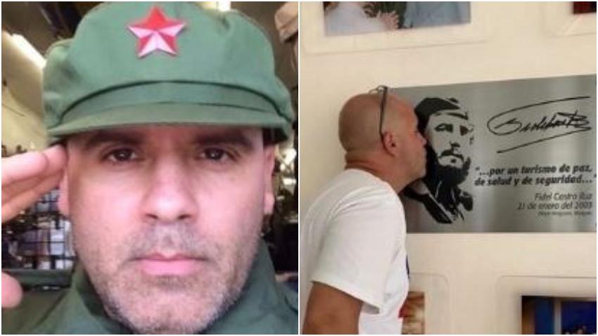 Crean campaña para que le retiren la Green Card a cubano simpatizante de la dictadura en Cuba que vive en Estados Unidos