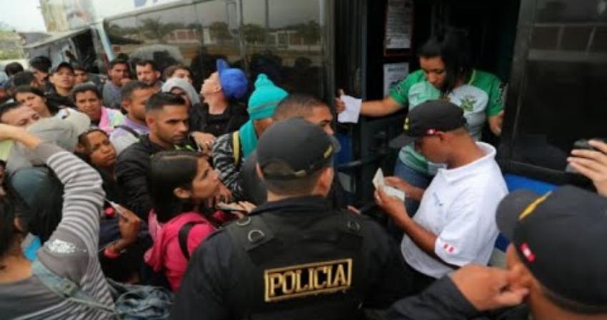 Perú ha deportado a 258 cubanos en los últimos tres años