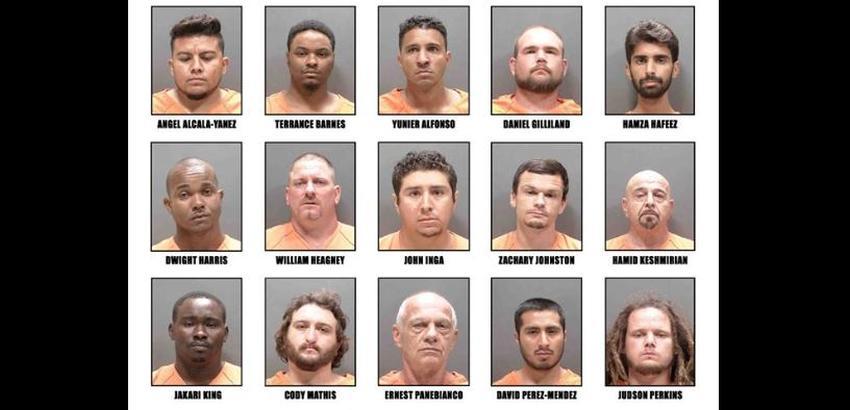 Arrestan en Florida a 23 depredadores sexuales que buscaban menores de edad en la internet