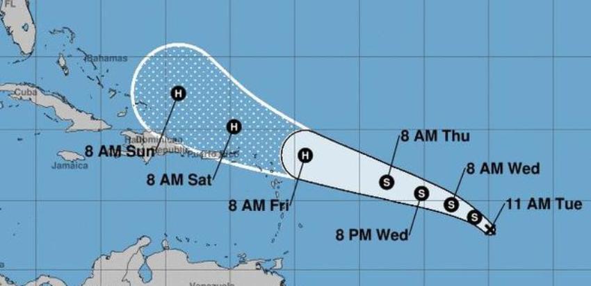 Nueva depresión tropical en el Atlántico amenaza con convertirse en tormenta en las próximas 48 horas