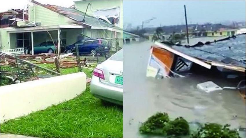 Al menos 5 muertos en Bahamas por el huracán Dorian