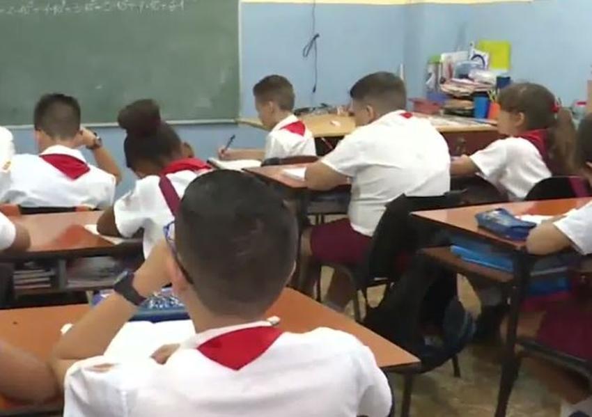 Reinicia el curso escolar en toda Cuba el 1 de septiembre, con excepción de La Habana, Bauta y Camajuaní
