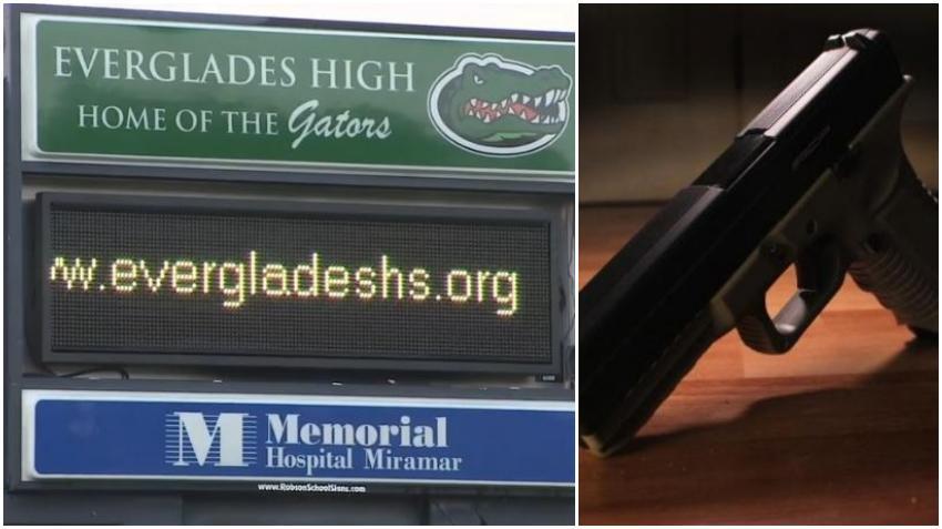 Estudiante de secundaria del sur de la Florida es arrestado por llevar un arma a la escuela
