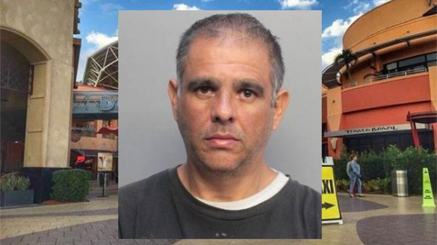 Un hombre es arrestado en el Dolphin Mall luego de manosear a una dependiente y sacarle un cuchillo