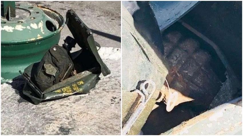 Policía investiga granada encontrada en un basurero en el sur de la Florida