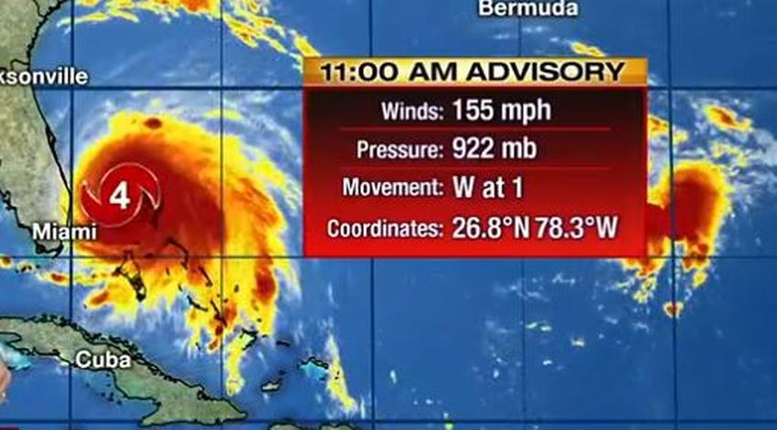 Dorian se debilita pero sigue siendo un poderoso huracán categoría 4