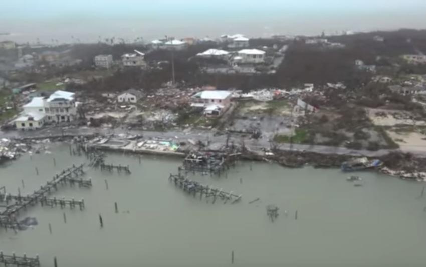 Sube a 20 el número de muertos en Bahamas a causa del huracán Dorian