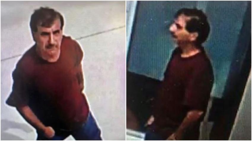 Policía busca a un hombre que robo de las cajas de ofrendas y donativos de una iglesia en el Doral