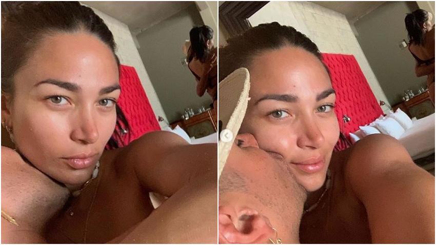 Modelo cubana Lisandra Silva enamora a sus seguidores con fotos junto a su pareja