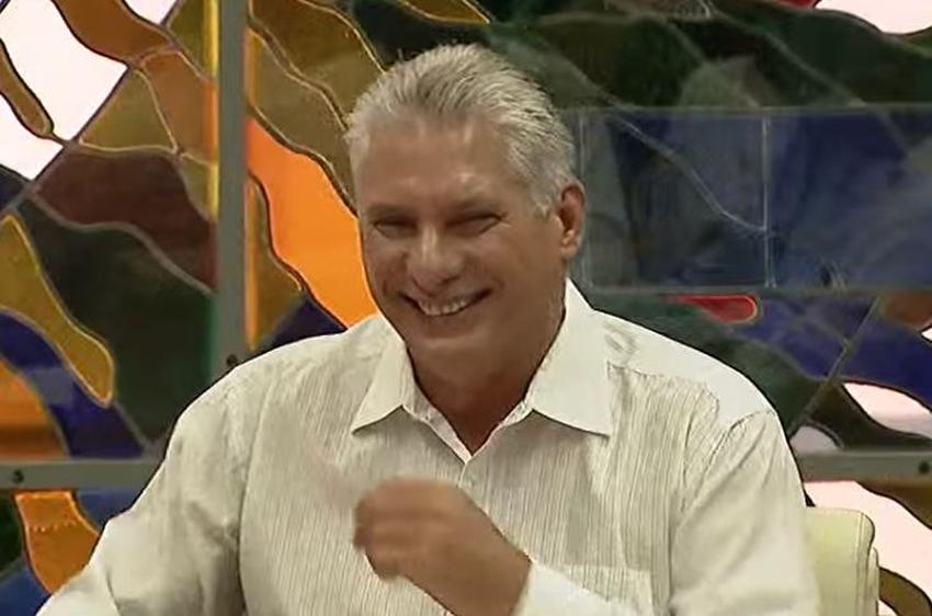 """Díaz-Canel se queja de las críticas al término """"coyuntural"""" para definir la crisis en Cuba"""