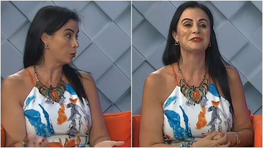 """Actriz y modelo cubana Haymel de la Vega dice en Miami que """"en Cuba la gente come muy bien"""""""