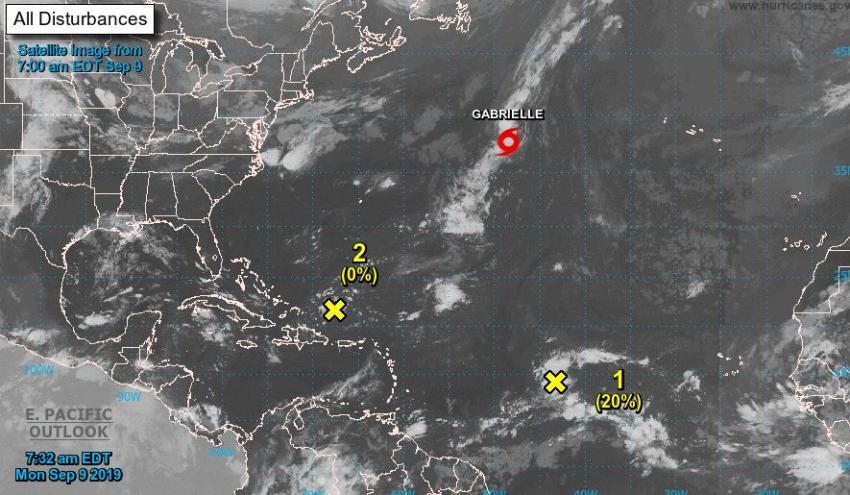 Sistema tropical podría convertirse en la Tormenta Tropical Humberto y acercarse a Bahamas y Florida