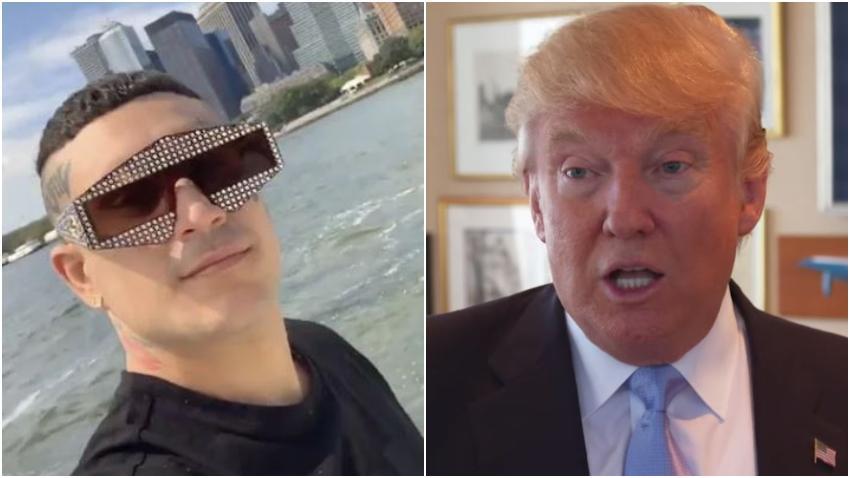 """Reguetonero cubano Osmani García está grabando un videoclip que se llama """"Millonario como Donald Trump"""""""