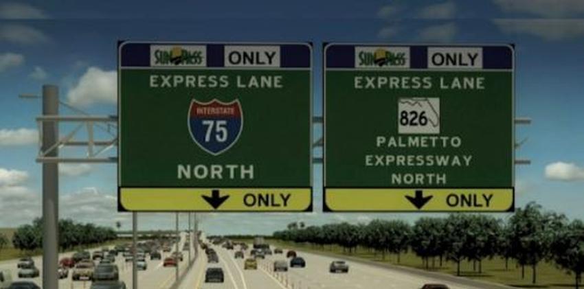 El lunes comienzan a cobrar el toll en las vías express en el Palmetto Expressway