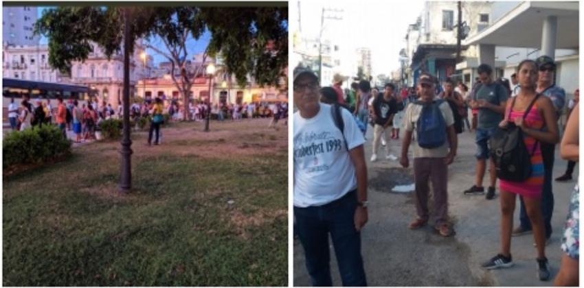 Grave crisis del transporte en La Habana, las paradas de ómnibus colapsan como en los años '90