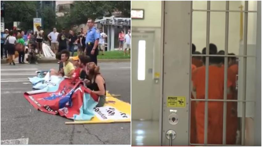 Protestan afuera de una oficina de ICE por la posible deportación de un cubano que se encuentra con problemas de salud