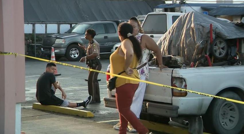 Policía busca a responsables de robo a mano armada en pulguero del noroeste de Miami