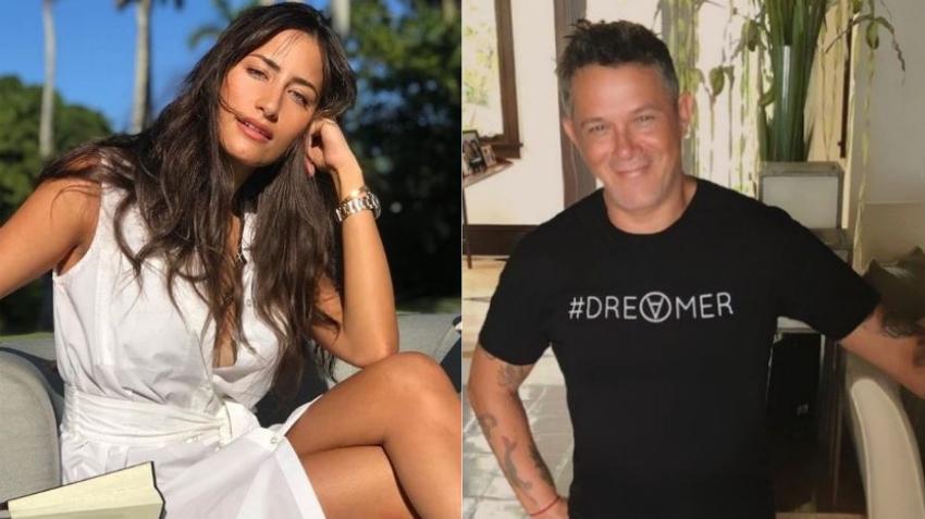 La cubana cubana Rachel Valdés y Alejandro Sanz intercambian declaraciones de amor