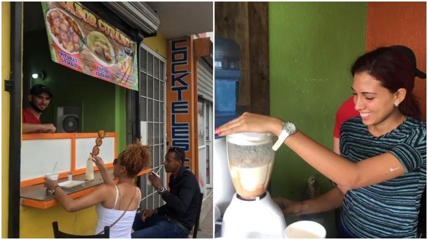 Familia de cubanos en Ciudad Juárez monta cafetería con sus ahorros mientras esperan su cita de asilo
