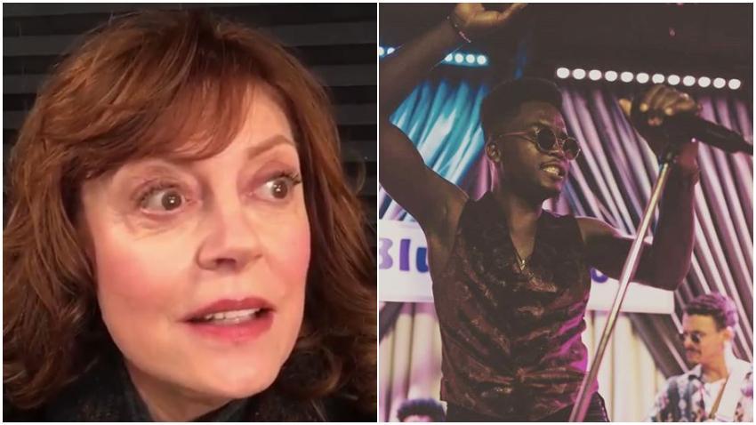 Actriz estadounidense Susan Sarandon asegura es fan de Cimafunk