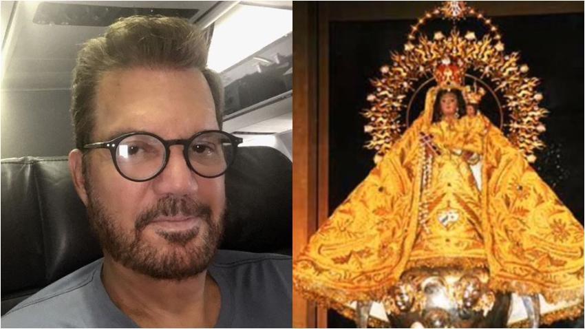 Willy Chirino pide a la Virgen de la Caridad del Cobre por todos los cubanos dentro y fuera de Cuba