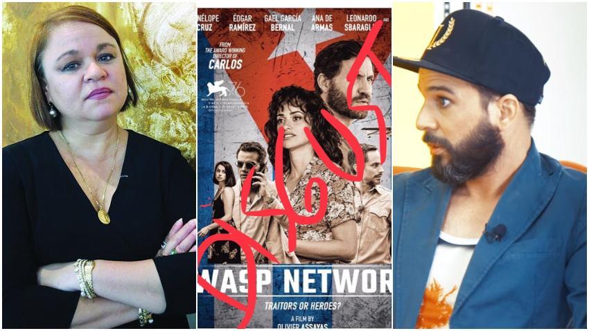 """Zoé Valdés y Alexander Otaola llaman a hacer un boicot a la película sobre los cinco espías """"Wasp Network"""""""