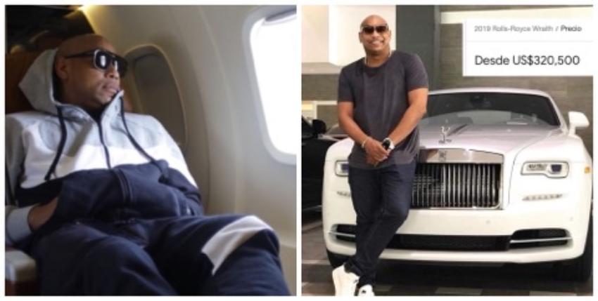 Críticas en las redes por el nuevo Rolls Royce de Alexander Delgado