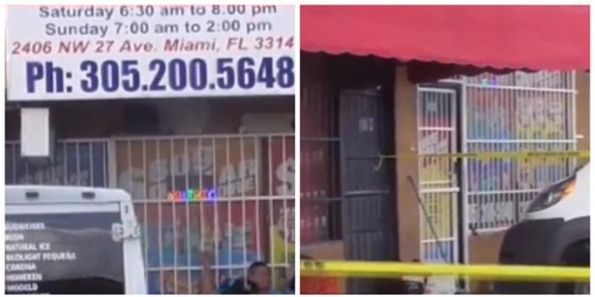 Apuñalan a un hombre afuera de una tienda de Miami, tras una discusión