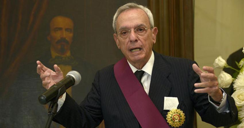 Eusebio Leal incluido como miembro de la prestigiosa Academia Estadounidense de las Artes y las Ciencias