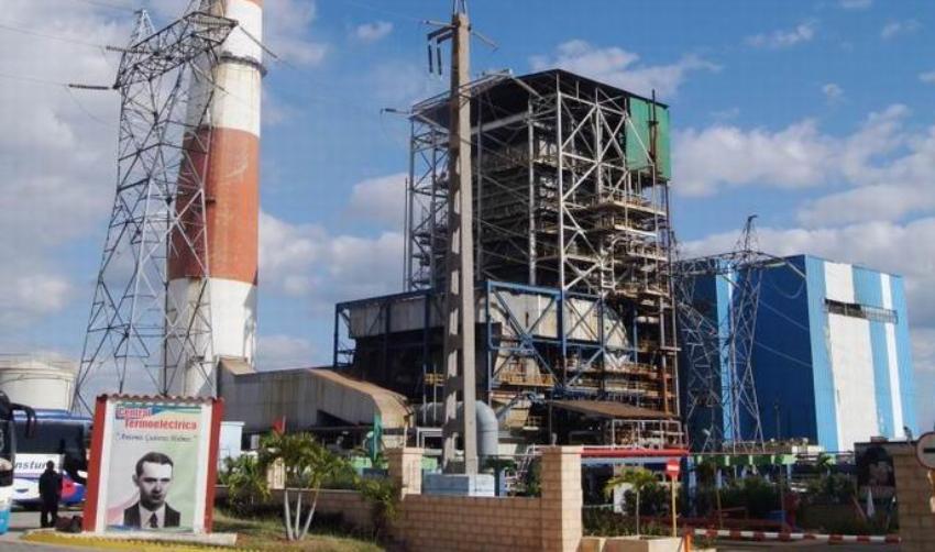 Se extienden las labores de mantenimiento en la termoeléctrica Antonio Guiteras de Matanzas