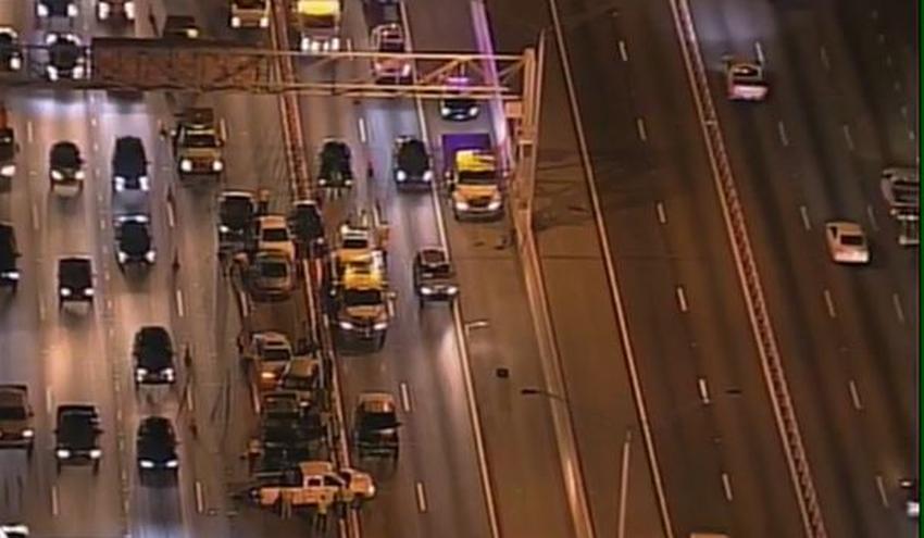 Un accidente en el Palmetto Expressway que involucró a 14 vehículos causa demoras en el tráfico