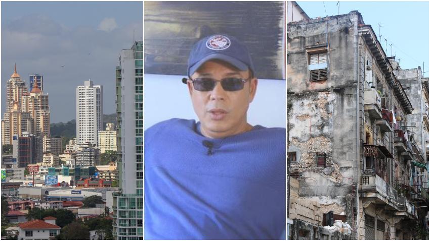 Humorista cubano Alexis Valdés admira el desarrollo de Ciudad Panamá y se pregunta ¿Y mi Cuba pa cuando?