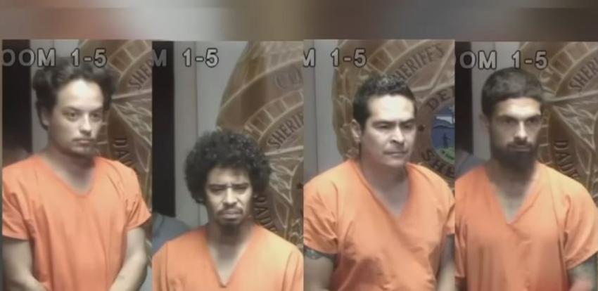 Cuatro adultos y un menor son arrestados por asaltar a mano armada a una  mujer en una casa móvil en el noroeste de Miami