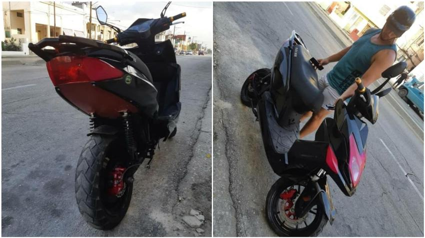 Asaltan violentamente a un joven en La Habana para quitarle una moto eléctrica